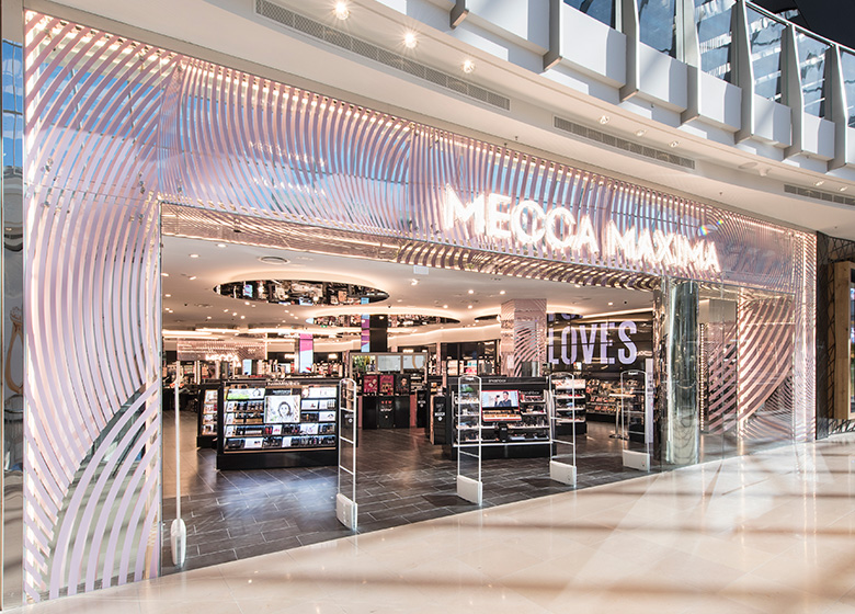 Mecca Chadstone-entrance