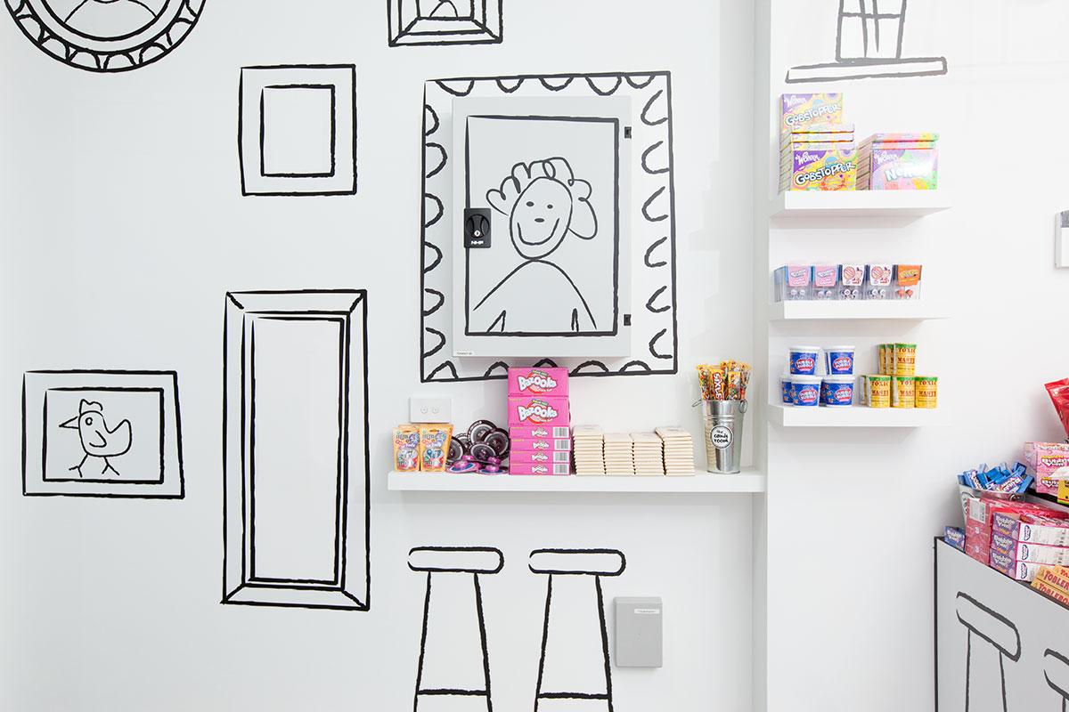 candy-room-wall art