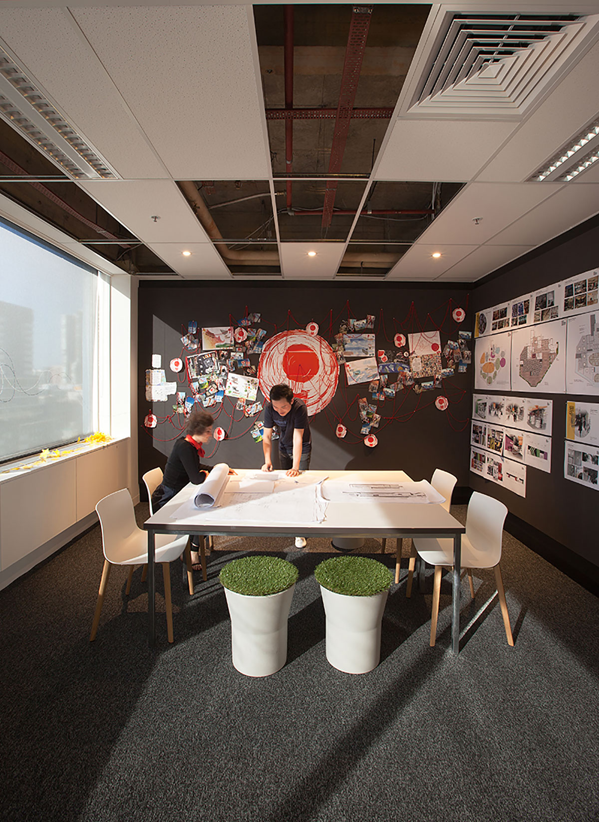 red design group - office work space